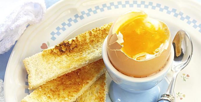 Le secret de l'œuf à la coque