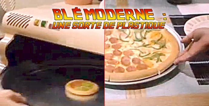 Blé moderne : une sorte de plastique