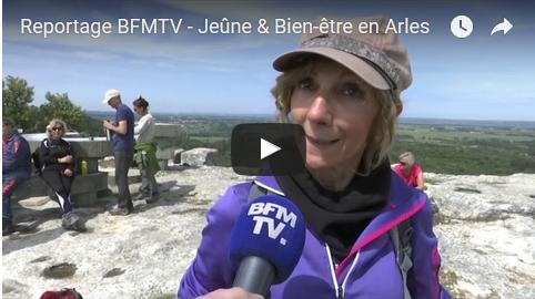 Reportage BFMTV – Jeûne & Bien-être en Arles