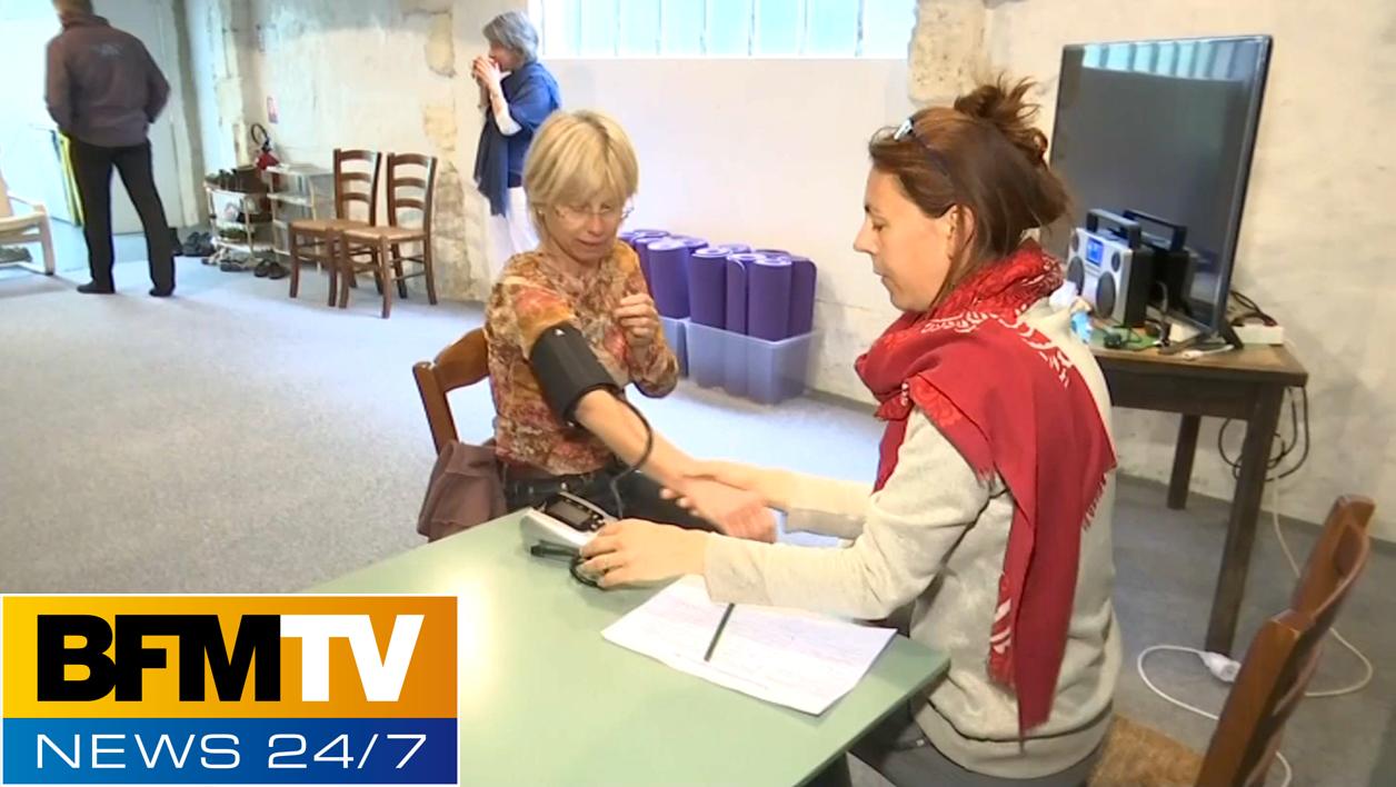 Reportage BFMTV – Réseau Jeûne & Bien-être au centre d'Arles