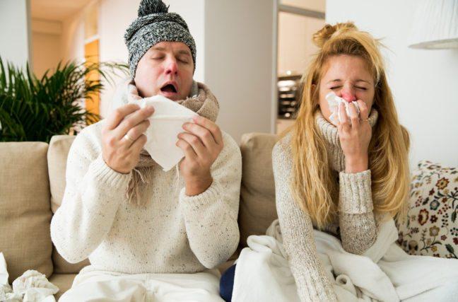 Pas malade à Noël !